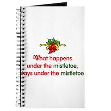 What happens under the mistle Journal