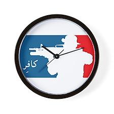 Major League-type Wall Clock