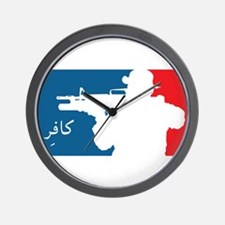 Major League-type Wall Clock