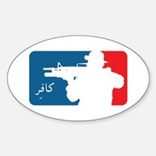 Major League-type Sticker (Oval)