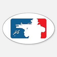 Major League-type Sticker (Oval)