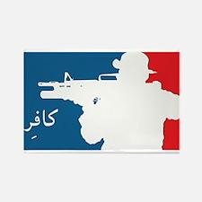 Major League-type Rectangle Magnet (10 pack)