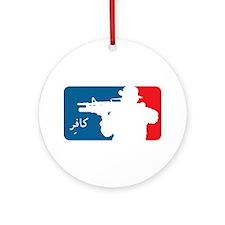 Major League-type Ornament (Round)