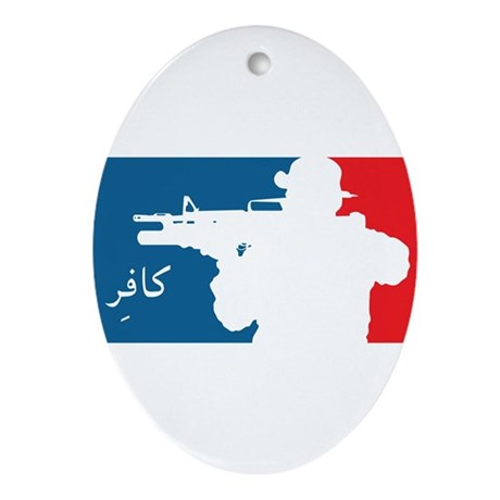 Major League-type Ornament (Oval)