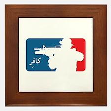 Major League-type Framed Tile