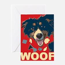 Cool Woof Greeting Card