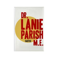 Castle Dr. Lanie Parish ME Rectangle Magnet