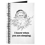 Creepy Santa Journal