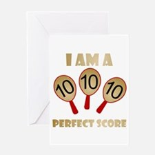 """""""Perfect Score"""" Greeting Card"""