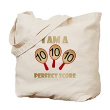 """Perfect Score"" Tote Bag"
