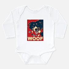 Funny Grin Long Sleeve Infant Bodysuit