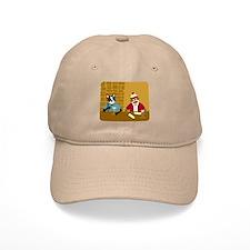 Boston Terrier Sock Monkey Baseball Cap