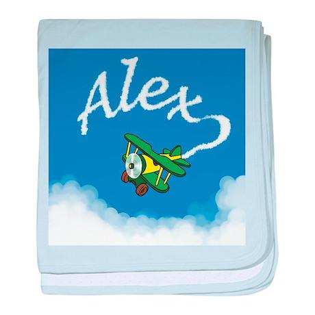 Aviator Alex Infant Blanket