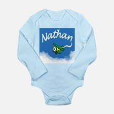 Aviator Nathan Long Sleeve Infant Bodysuit