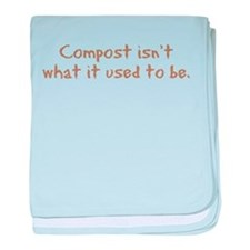 Compost Used To Be Infant Blanket