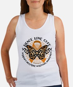 MS Tribal Butterfly Women's Tank Top