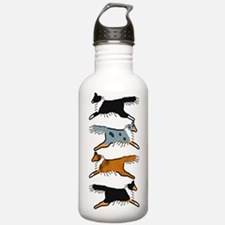 Group O' Shelties Water Bottle
