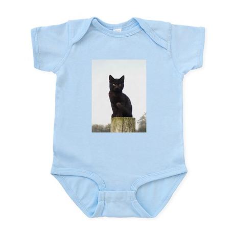 Black Kitty Infant Bodysuit