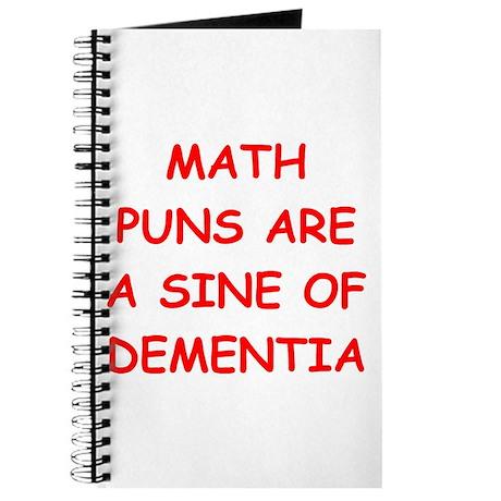 funny math joke Journal