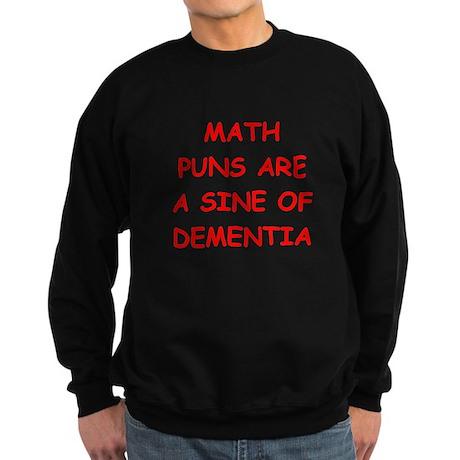 funny math joke Sweatshirt (dark)