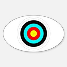 Archery Target Sticker (Oval)