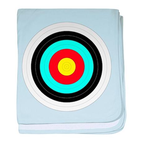 Archery Target Infant Blanket