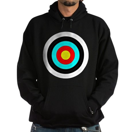 Archery Target Hoodie (dark)