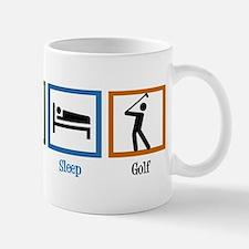 Eat Sleep Golf Small Small Mug