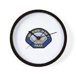 U S Navy Police Wall Clock