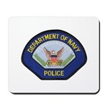U S Navy Police Mousepad