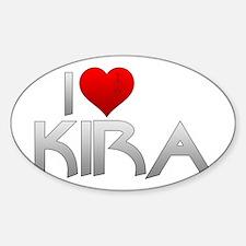 I Heart Kira Nerys Decal