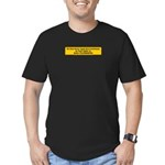 We Must Never Again Men's Fitted T-Shirt (dark)