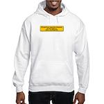 We Must Never Again Hooded Sweatshirt