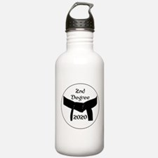 Martial Arts Blackbelt Stainless Water Bottle 1.0l