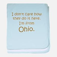 From Ohio Infant Blanket