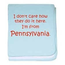From Pennsylvania Infant Blanket