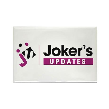 Joker's Rectangle Magnet