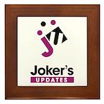Joker's Framed Tile