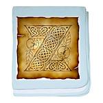 Celtic Letter Z Infant Blanket
