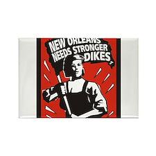 New Orleans Katrina Stuff Rectangle Magnet