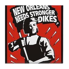 New Orleans Katrina  Stuff Tile Coaster