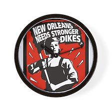 New Orleans Katrina  Stuff Wall Clock