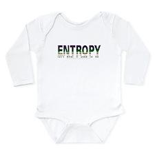 Entropy Long Sleeve Infant Bodysuit