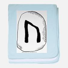 Viking Rune Uruz Infant Blanket