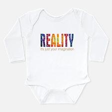 Reality Imagination Long Sleeve Infant Bodysuit