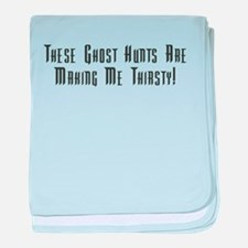 Ghost Hunts Thirsty Infant Blanket