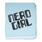Nerd Girl Infant Blanket