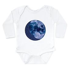 Celtic Knotwork Blue Moon Long Sleeve Infant Bodys