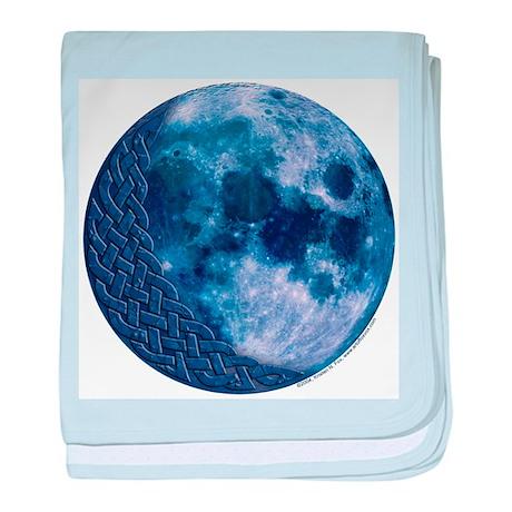 Celtic Knotwork Blue Moon Infant Blanket