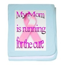 My Mom is Running for the Cur Infant Blanket